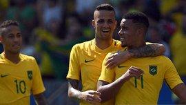 Жезус эпически пристыдил Неймара на тренировке сборной Бразилии