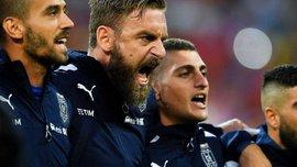 Почему Де Росси с руганью отказался выходить за Италию против Швеции – поразительная сцена, все объясняющая