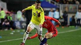 Товарищеские матчи: Колумбия разгромила Китай, Южная Корея и Сербия сыграли вничью