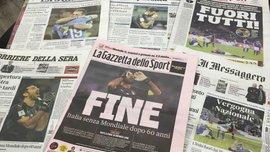 """""""Всех разогнать, идите копать"""": итальянская пресса разбомбила сборную Италии за историческое фиаско против Швеции"""