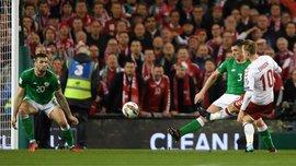 Ірландія – Данія – 1:5 – Відео голів та огляд матчу