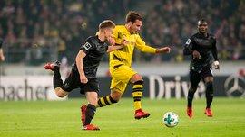 Штутгарт в непростом матче одержал победу над Боруссией