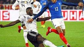 Германия – Франция – 2:2 – Видео голов матча