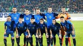 Ардін Даллку дебютував за збірну Косова