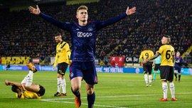 Аякс забил 8 мячей Бреде в чемпионате Нидерландов