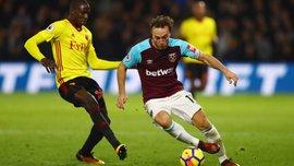 Уотфорд – Вест Хэм – 2:0 – Видео голов и обзор матча