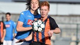 Шахтер U-19 минимально победил Наполи U-19 в Юношеской Лиге УЕФА