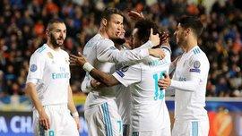 АПОЭЛ – Реал – 0:6 – Видео голов и обзор матча