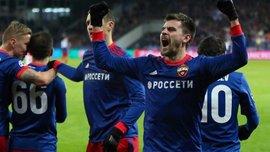 Московский ЦСКА уверенно победил Бенфику на домашнем поле