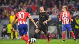 Атлетико в непростом матче обыграл Рому и сохранил шансы на выход в следующий раунд