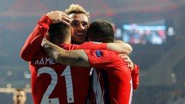 Атлетико – Рома – 2:0 – Видео голов и обзор матча