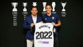 Родриго продлил контракт с Валенсией