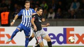 Лига Европы: Атлетик выиграл у Герты, Реал Сосьедад и Ницца вышли в плей-офф