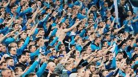 Фанати Зеніта підтримали військового злочинця на матчі Ліги Європи – клуб чекають серйозні санкції