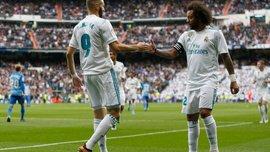 Реал в тяжелом матче одержал победу над Малагой