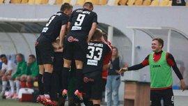 Верес – Черноморец – 3:1 – Видео голов и обзор матча