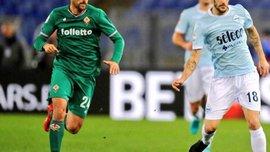 Фиорентина на последних минутах вырвала ничью в матче с Лацио