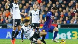 Гравці і тренер Валенсії визнали, що арбітри помилились, не зарахувавши гол Мессі