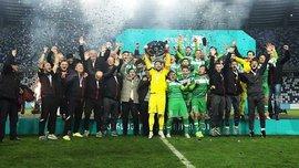 Голкипер Торпедо Кутаиси парировал пенальти на 90+4 минуте золотого матча против Динамо Тбилиси и принес своей команде чемпионство