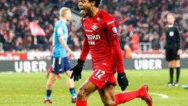 Луїс Адріано забив красивий гол у матчі Спартак – Зеніт