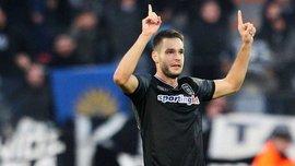 Шахов забив гол за ПАОК у матчі Кубка Греції