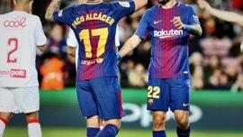 Кубок Іспанії: Барселона розгромила Мурсію, Севілья розбила Картахену, Реал Сосьєдад сенсаційно програв Льєйді
