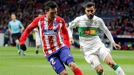 Кубок Испании: Атлетико прошел Эльче, Атлетик вылетел от Форментеры, Лас-Пальмас проиграл Депортиво, но вышел в 1/8 финала