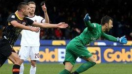 Як воротар Бріньйолі ефектно зганьбив Мілан на 90+5 хвилині у прем'єрному матчі Гаттузо