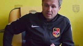 Сизихін покинув посаду головного тренера Геліоса