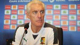 Уго Броос покинул пост главного тренера сборной Камеруна