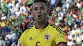 Полузащитник сборной Колумбии рискует пропустить ЧМ-2018 из-за расистского жеста
