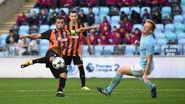 Юношеская лига УЕФА: Шахтер U-19 победил Манчестер Сити U-19 благодаря дублю Кащука