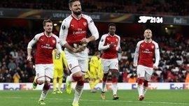 Ліга Європи: Арсенал розгромив БАТЕ, Марсель та Зальцбург зіграли внічию