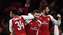 Арсенал – БАТЕ – 6:0 – Відео голів та огляд матчу