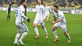 Мораєс та Морозюк потрапили у збірну тижня Ліги Європи