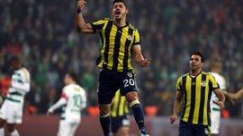 Джулиано вывел Фенербахче на 2-е место, забив 8-й гол в чемпионате Турции