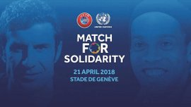 УЄФА та ООН проведуть благодійний матч зірок футболу