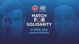 УЕФА и ООН проведут благотворительный матч звезд футбола