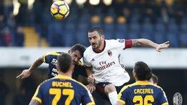 Верона – Милан – 3:0 – видео голов и обзор матча