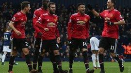Вест Бромвич – Манчестер Юнайтед – 1:2 – видео голов и обзор матча
