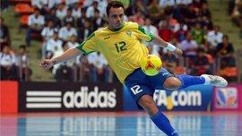 Фалькао забил очередной шедевральный гол в матче по футзалу