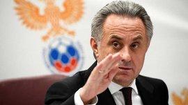 Мутко приостановил свою работу в Российском футбольном союзе