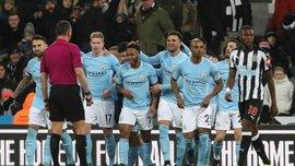 Ньюкасл – Манчестер Сити – 0:1 – видео гола и обзор матча