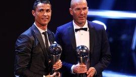 Роналду та Зідан – найкращі у 2017 році за версією Dubai Globe Soccer