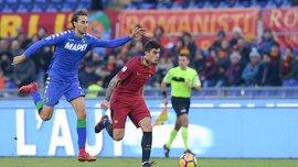 Рома – Сассуоло – 1:1 – видео голов и обзор матча