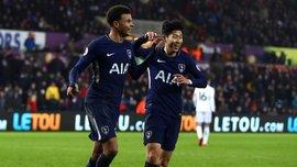 Суонси – Тоттенхэм – 0:2 – видео голов и обзор матча
