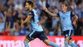 Нинкович забил гениальный гол за Сидней, включив режим Месси