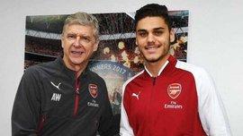 Арсенал подписал молодого защитника Мавропаноса