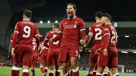Кубок Англии: Ливерпуль вырвал победу у Эвертона, Манчестер Юнайтед дожал Дерби