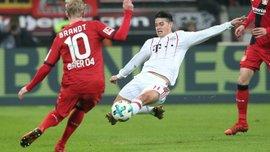 Бавария на выезде победила Байер